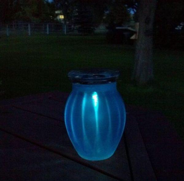 Making a Solar-Powered Sun Jar
