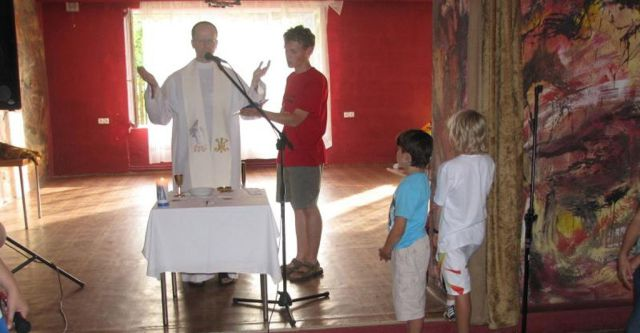 Bizarre Ceremony in Polish Catholic School