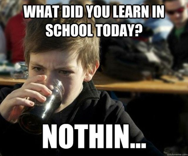Funny Meme Quotes About School : Funny quotes for elementary school students quotesgram