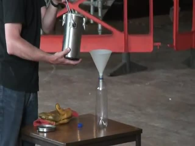 Explosive Experiment with Liquid Nitrogen and 1,500 Table Tennis Balls