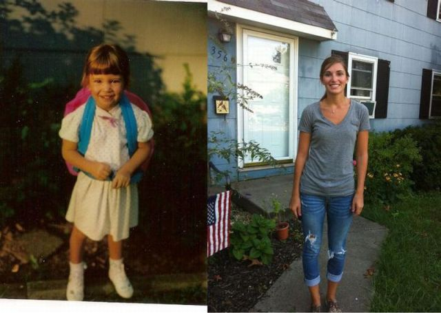 "Another Collection of ""Young Me, Now Me"" Photo Project"