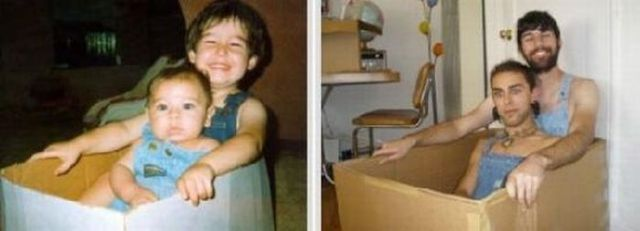 """Another Collection of """"Young Me, Now Me"""" Photo Project"""