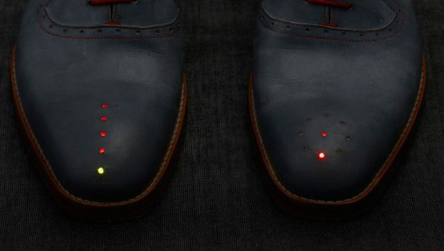 Amazing Shoes with Built-In GPS