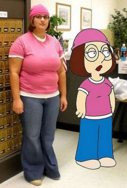 Real Life Doppelgängers of Cartoon Characters