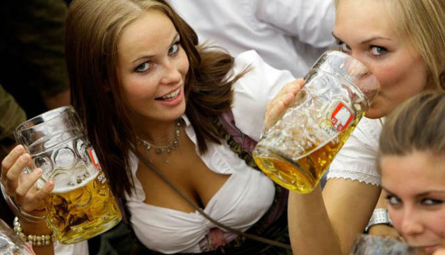 Busty Girls of Oktoberfest