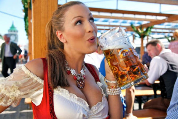Busty Girls of Oktoberfest