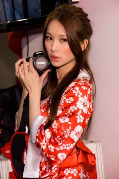 Cute Asian Promo Models
