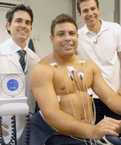 Ronaldo Struggles for Weight Loss