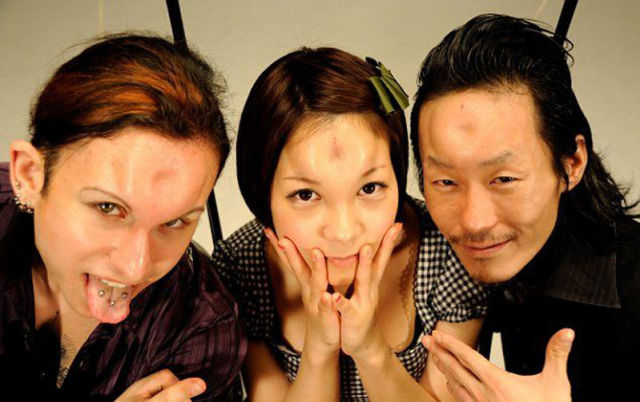 'Donut Head' Freaks from Japan
