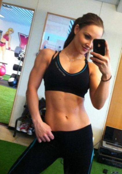 Fitness Chicks Are Always Gorgeous