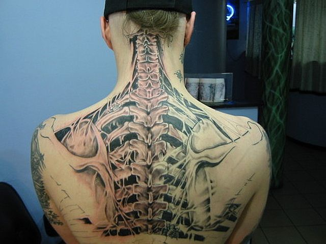 Creepily Realistic Tattoos