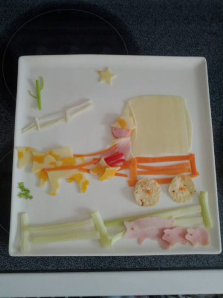 Food Art, Kind Of. Part 2