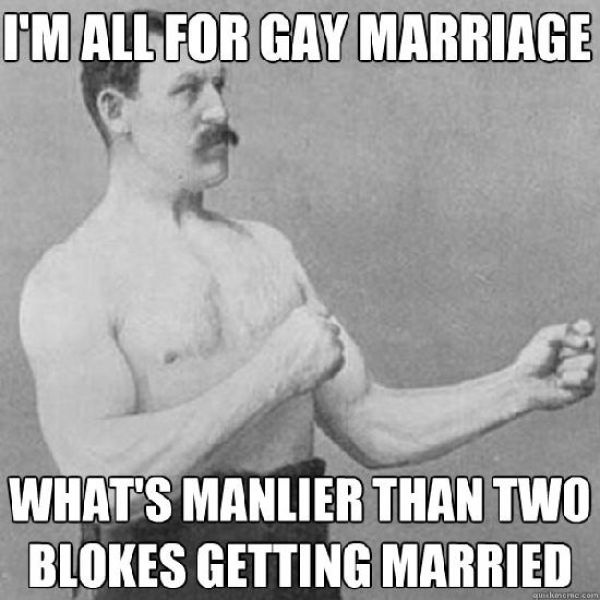 "The Hilarious ""Overly Manly Man"" Meme"