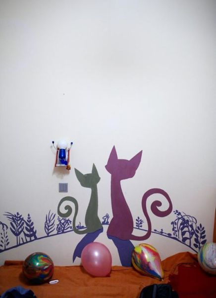 Creatively Painted Children's Bedrooms