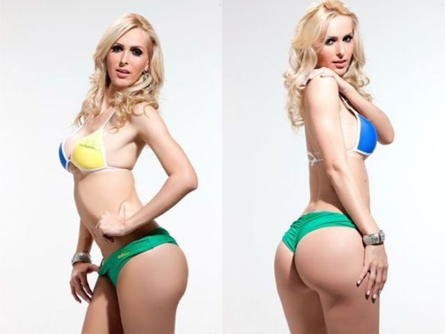 Curvy Girls of Miss Bumbum Brazil 2012