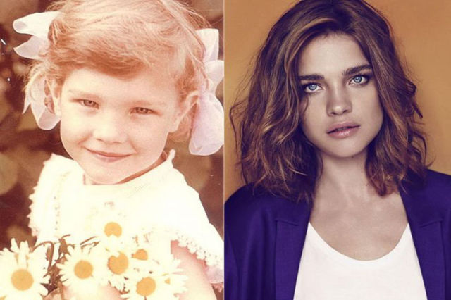 Pictures of Supermodels When They Were Kids