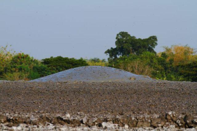 Explosive Mud Volcano Bledug Kuwu