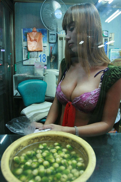 Provocative Attire Makes More Men Nuts for Betel Nuts