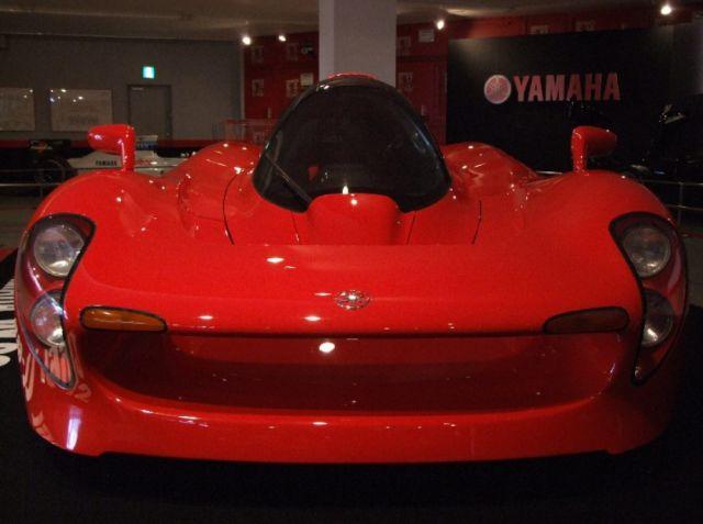 Yamaha's Futuristic Concept Car