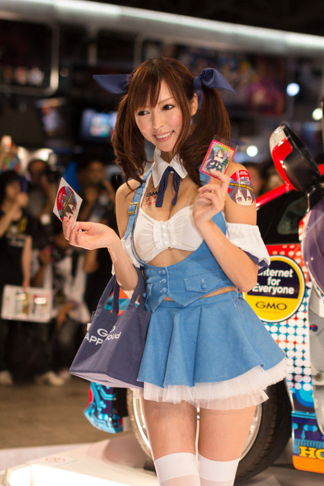 Tokyo Beauties at 2012 Game Show