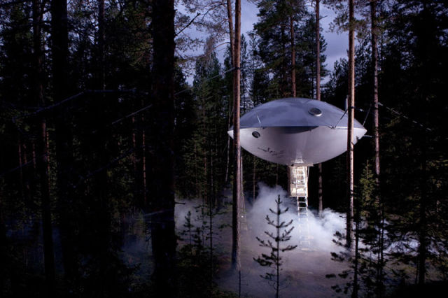 Eco-friendly Treehotel Is a Natural Heaven