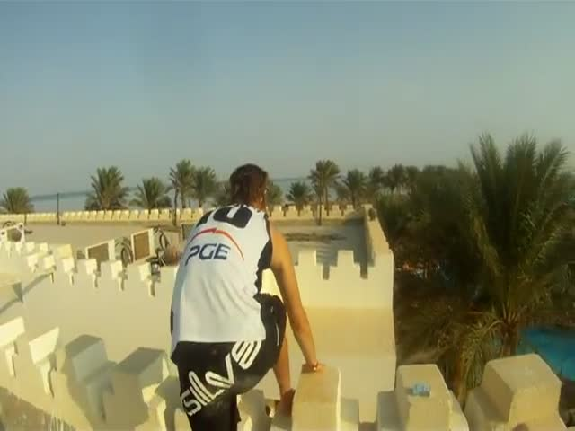 Egyptian Parkour…
