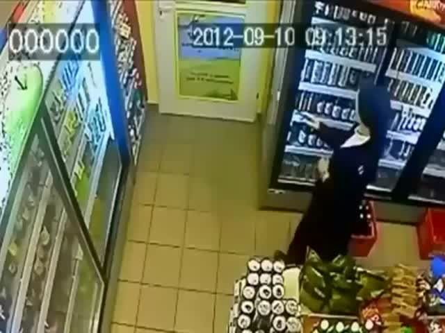 Stealing Nun Must Not Know about CCTV