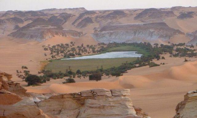 Remarkable Ounianga Desert Lakes