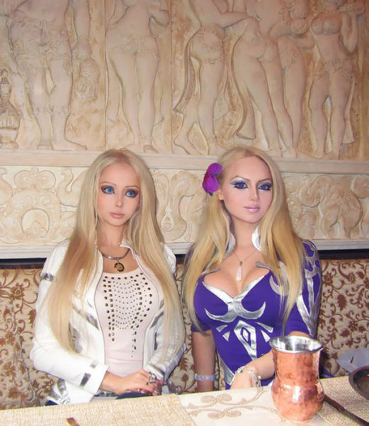 Human Dolls Appear Together
