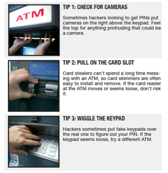 Three Tips for Avoiding ATM Scams