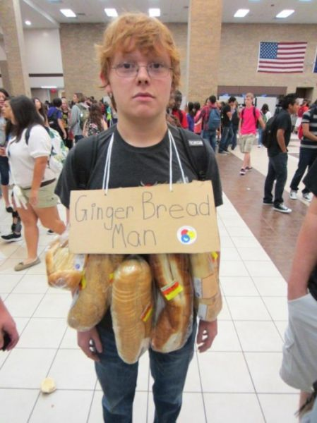 get a laugh or a sigh with halloween costumes that use a play on words for inspiration