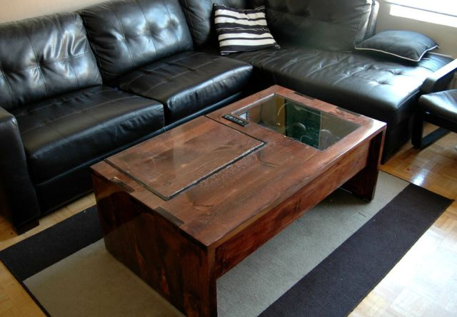 Genius Coffee Table Design Doubles as a Computer