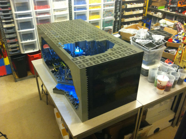"This LEGO ""Batcave"" Is Not Your Average Toy"