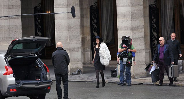 "Action Shots from the Filming of ""Red 2"""
