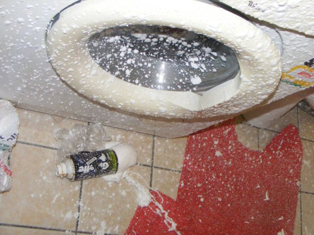 Nightmare Bathroom Explosion