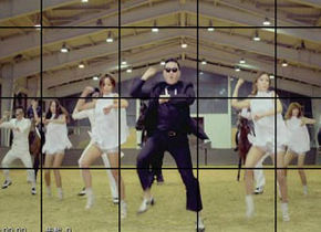 Gangnam Style Dynamic Jigsaw