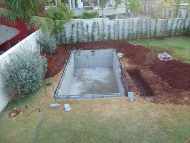 Diy swimming pool conversion 26 pics picture 13 for Pond to swimming pool conversions