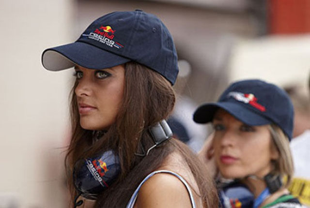 Ravishing Redbull Track Girls