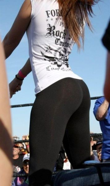 What's Not to Love about Yoga Pants?