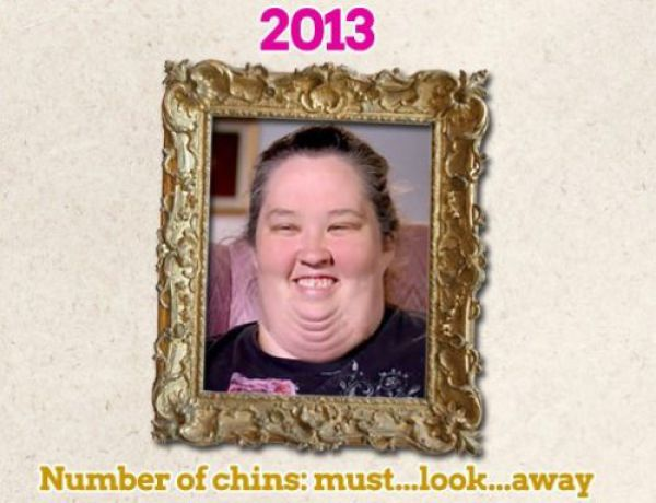 Honey Boo Boo's Mother Struggles to Keep Her Chin Up!