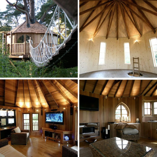 """A Childhood Fantasy Come True: Tree Houses for """"Grown Kids""""!"""