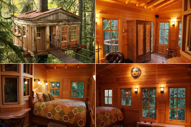 A Childhood Fantasy Come True Tree Houses For Grown Kids