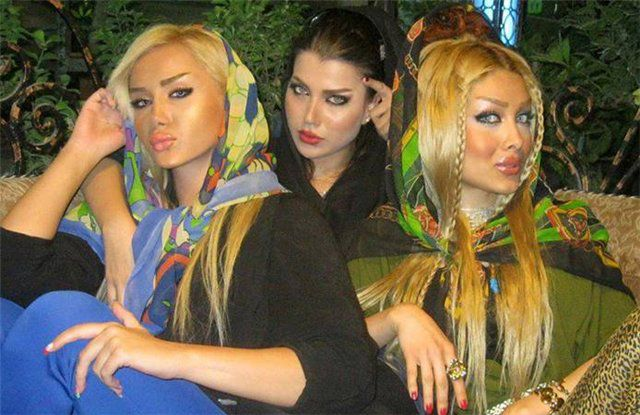 'Glamorous' Chicks from Iranian Social Networks