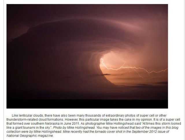 Interesting and Educational Weather Related Photos