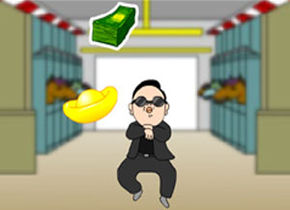 Gangnam Catching Treasure