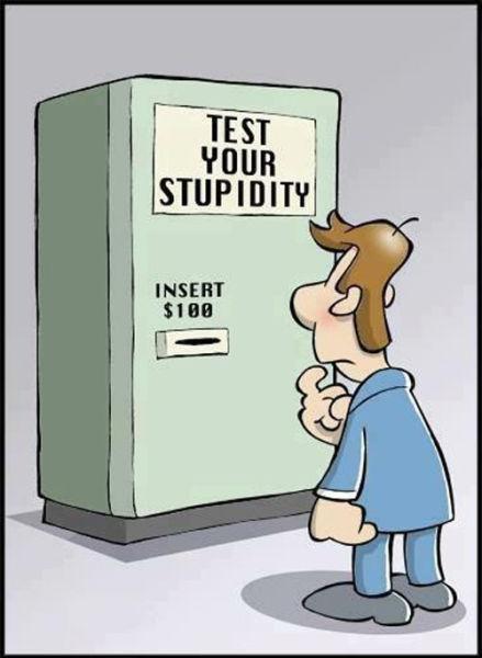 Ok, So We Know You're a Smartarse!