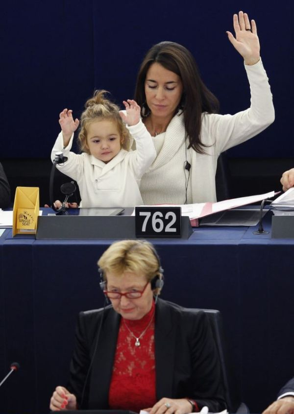 The World's Youngest Voter!