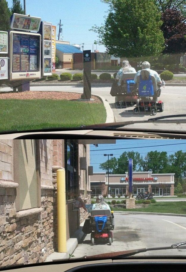 Things You Don't Expect to See At A Drive-Thru!