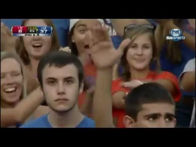 Spookiest Staring Fan Ever