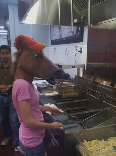 Just Horsing Around!